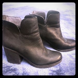 Leather Lucky Brand Boots